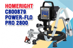 HomeRight C800879 Power-Flo Pro 2800 Airless Paint Gun Review