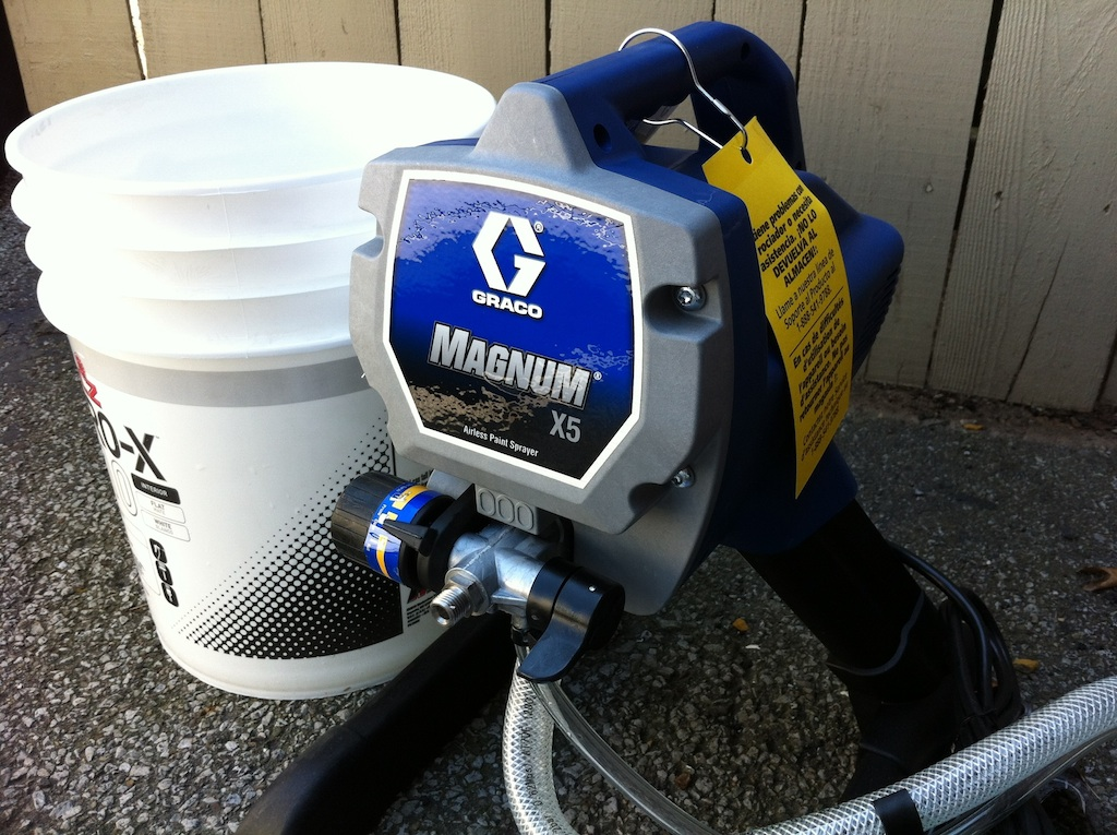 graco magnum x5 paint sprayer review