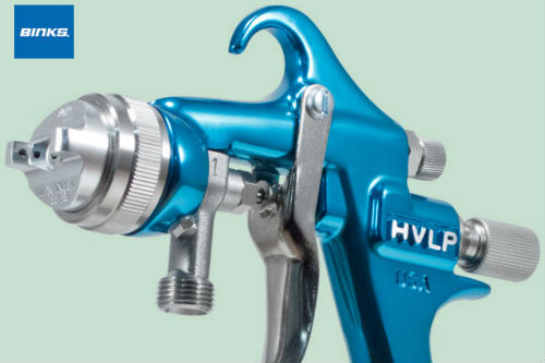 Instruction to set up HVLP spray guns - Part1
