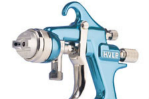 Instruction to set up HVLP spray guns - Part 2