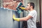 Use a Paint Sprayer to Paint External Walls