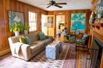 how-to-paint-wood-paneling-walls-eclectic-living-room-with-vintage-in-richmond-700x467