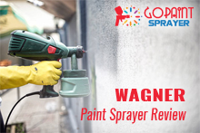 Wagner paint sprayer review