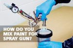 How Do You Mix Thin Paint for Spray Gun?
