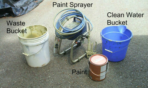 Set up and Use an Airless Paint Sprayer