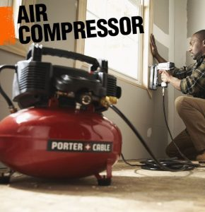 Air Compressor for a Paint Sprayer