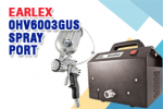 Earlex 0HV6003GUS Spray Port with Gravity Feed Pro 8 Spray Gun