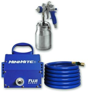 Fuji 2903 T70 Mini Mite 3 Platinum T70 HVLP Spray System Review