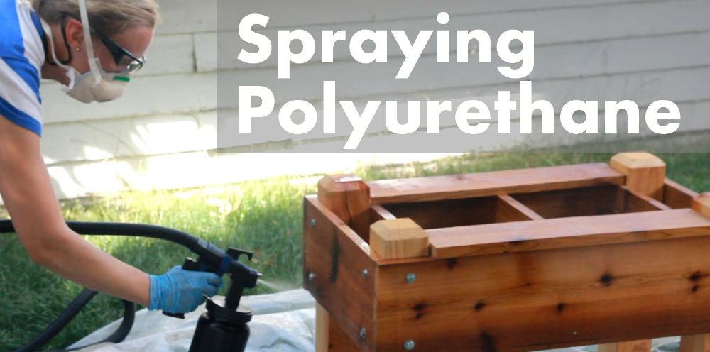 How to Spray Polyurethane?