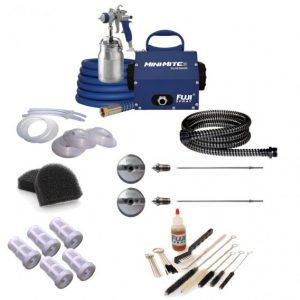 fuji-mini-mite-3-platinum-t70-hvlp spray system accessory bundle 2903 t70