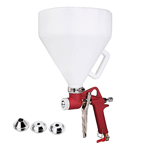 Super buy 1.45 Gallon Air Hopper Spray Gun Paint Texture Tool Drywall Wall Painting Sprayer w/3 Nozzle