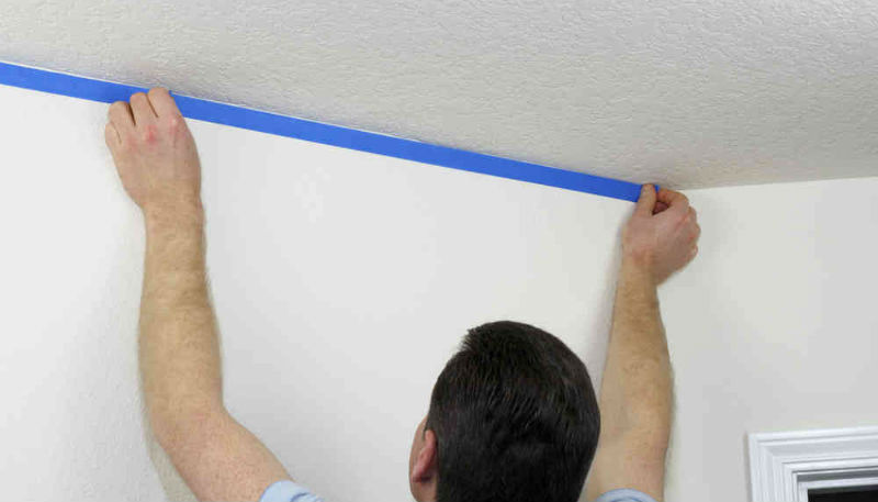 Guide To Make Popcorn Ceiling Painting Easy And Fun For You
