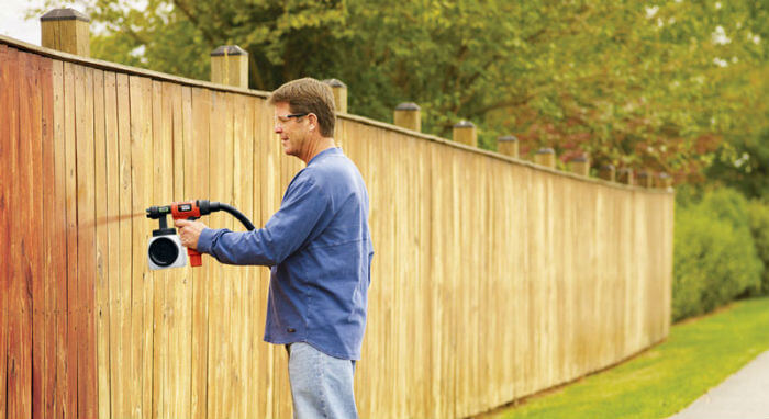 Spray your Fence