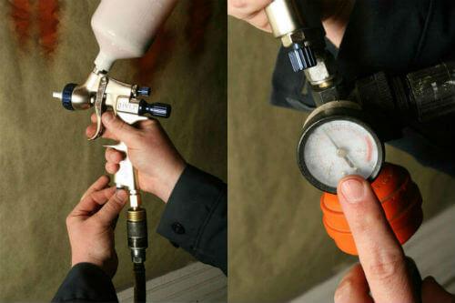 setting correct pressure settings