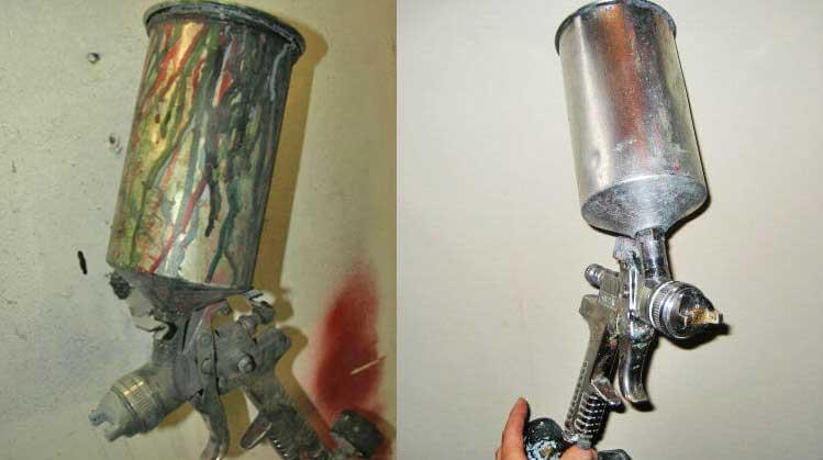 How To Clean Paint Spray Gun? | Go Paint Sprayer