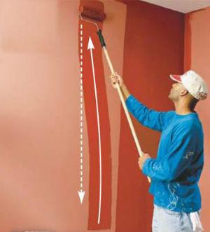 Push Paint to Avoid Runs