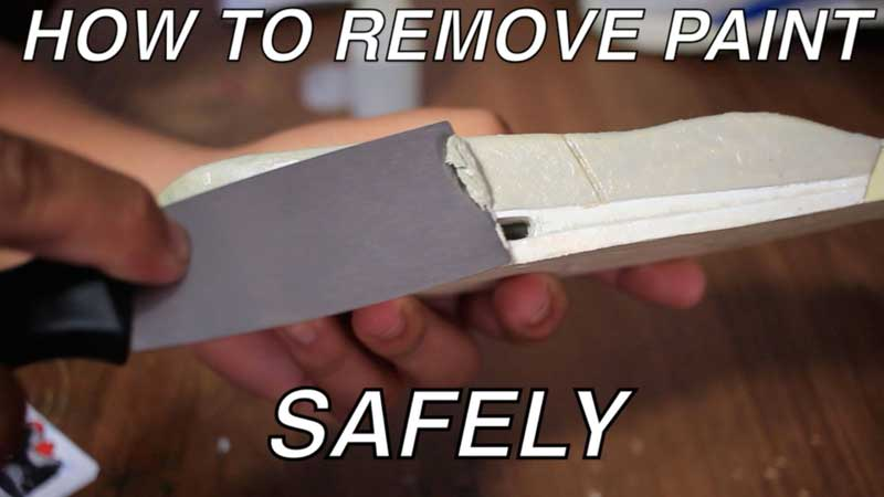 How to Safely Remove Paint