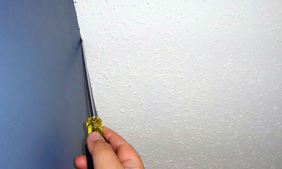 Scrape a Ridge in Textured Ceilings