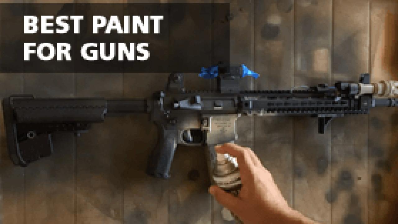 Best Paint for Guns – Firearm Paint | Go Paint Sprayer