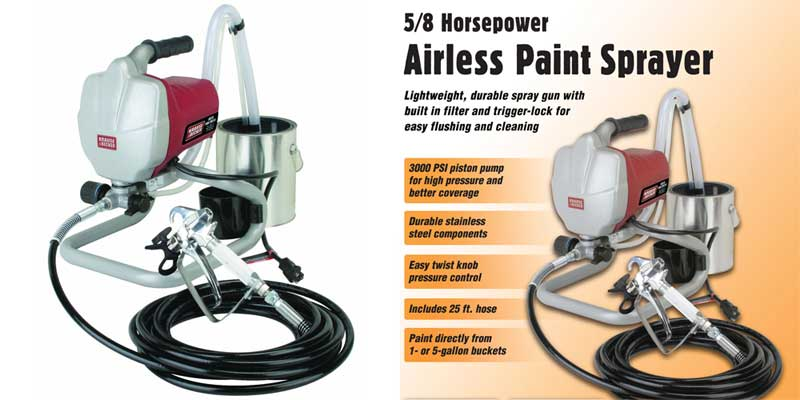 Krause and Becker Airless Paint Sprayer Parts