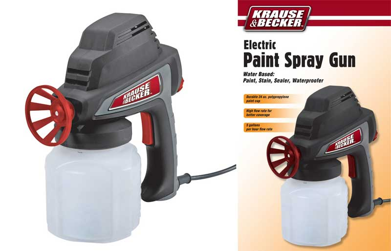 Krause and Becker Electric Paint Sprayer Gun Parts