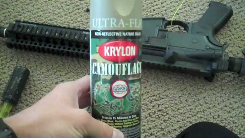 Painting A Gun With Krylon