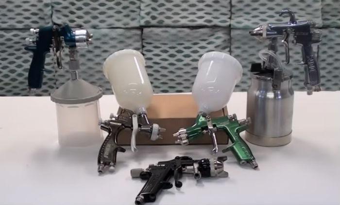 How to choose best LVLP spray gun?