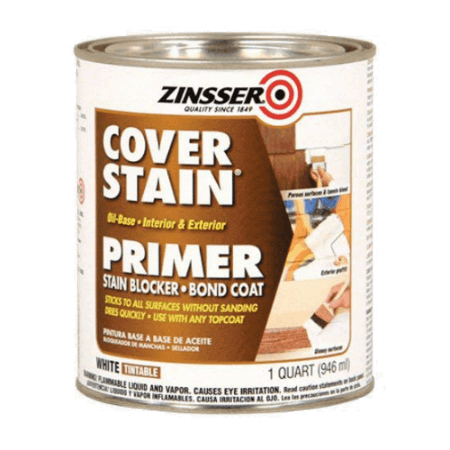 Zinsser 03504 Cover Stain Interior/Exterior Oil Primer Sealer