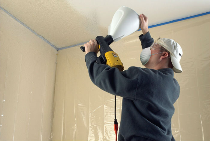 Can you spray paint walls?
