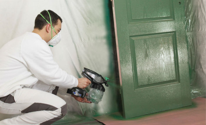 Use More Paint With A Sprayer