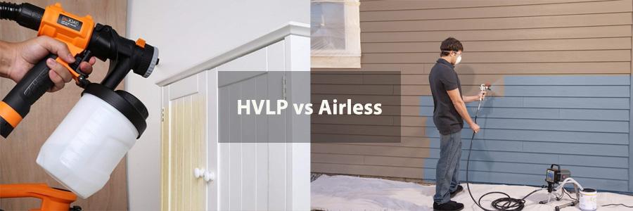 HVLP vs Airless