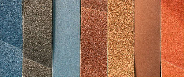 Kinds of grit sandpaper