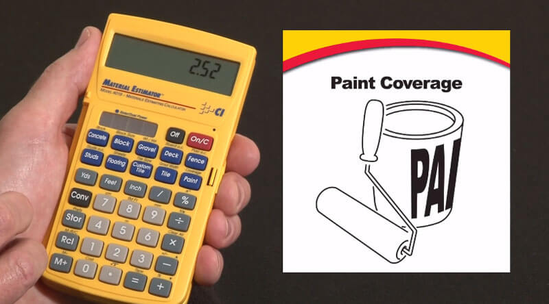 Coverage Of Paint Per Gallon