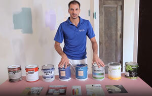 how much room paint and exterior paint