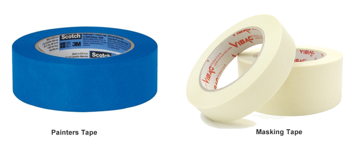 The Different Between Painters Tape And Masking Tape