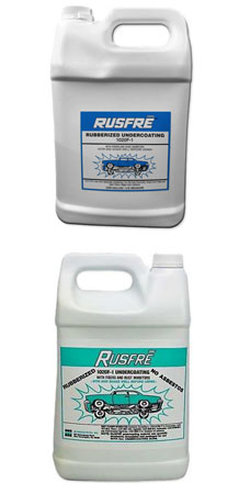 RusFre Spray-On Rubberized Undercoating Material