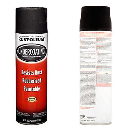 Rust-Oleum 248657 Under Coat Spray