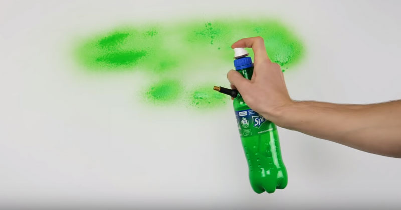 Make a Spray Bottle for Painting