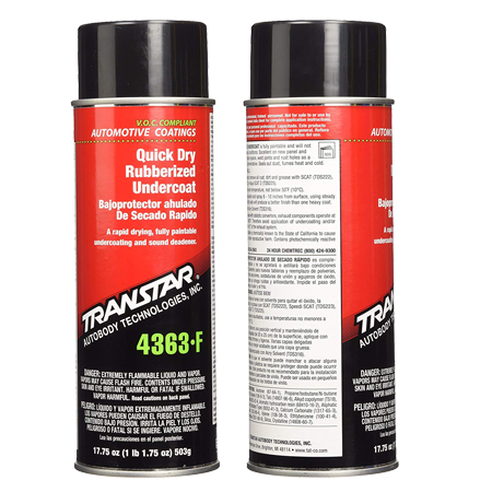 TRANSTAR (4363-F) Quick Dry Rubberized Undercoating