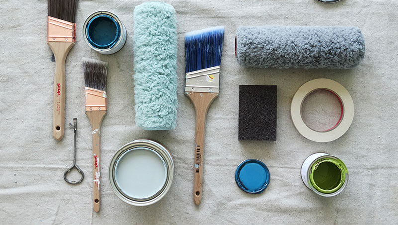 Tools For A Paint Project