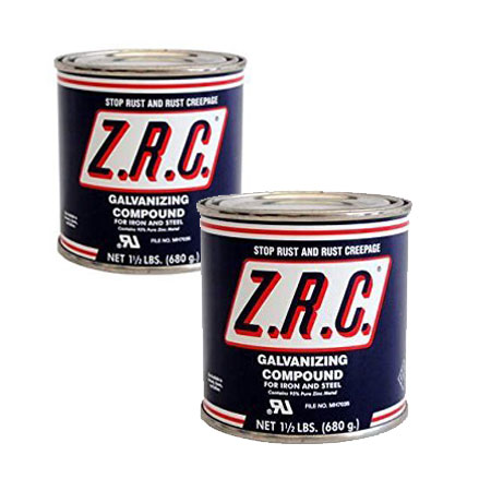 ZRC Cold Galvanizing Compound Quart Can