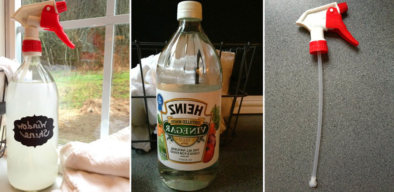 Make a Spray bottle glass