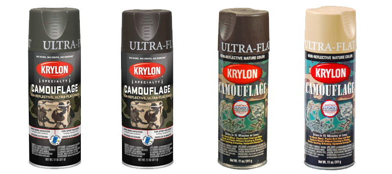 Krylon K04293007 Camouflage with Fusion