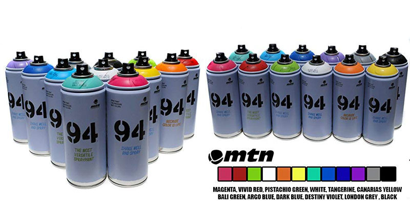 Montana MTN 94 Spray Paint - Professional Spray Paint for Street Artists