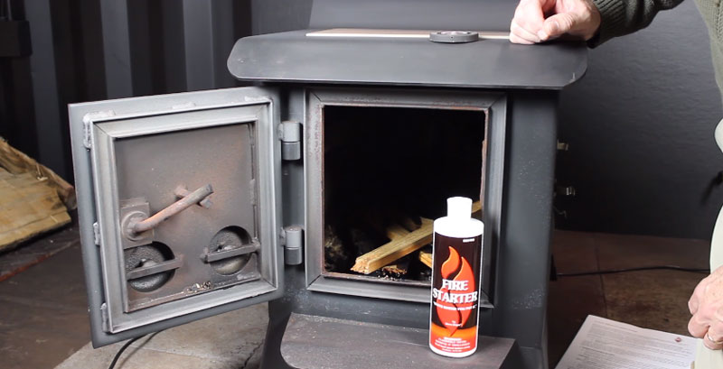 Paint A Wood Stove