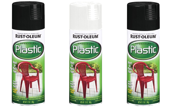 Rust-Oleum 211338 Spray Paint for Plastic