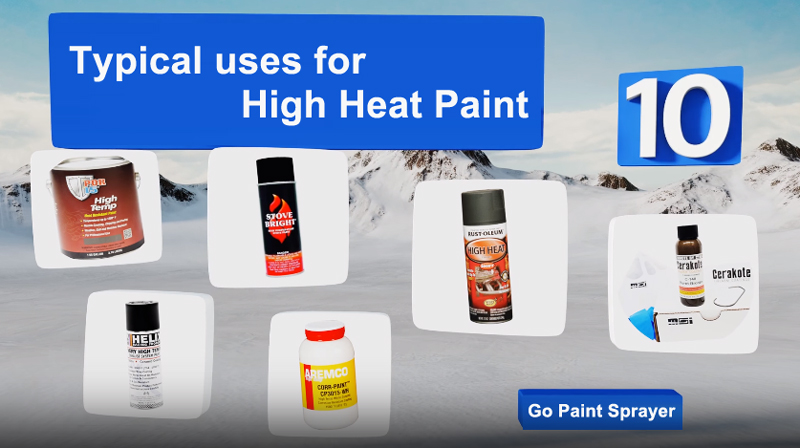 High Heat Paint