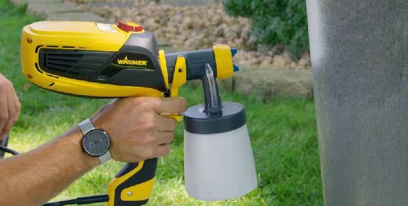 Use Flexio Paint Sprayer 3000