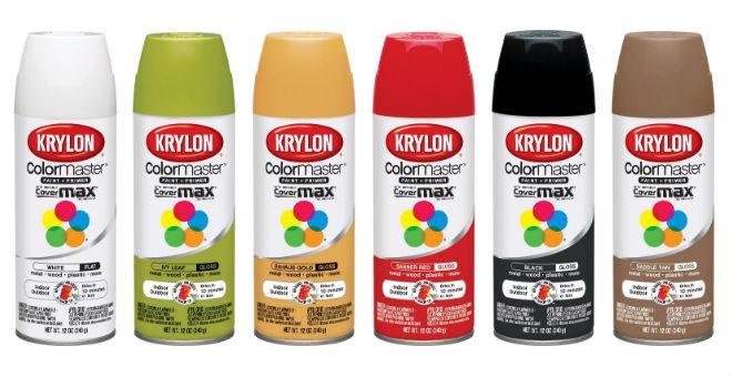 Krylon White Color Master 2-in-1 Paint and Primer