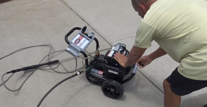 Maintain a Home Pressure Washer